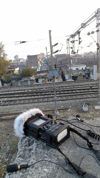 Preet Nagar, Union Carbide Factory Train Station, Bhopal, Madhya Pradesh India 2013.