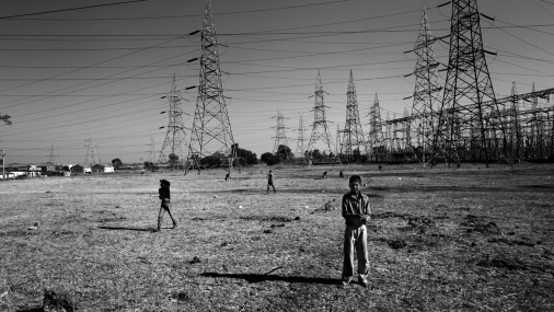 Sukhi Sawania Power Station, Sukhi Sawania, Madhya Pradesh India 2013. 2013©devtank All rights Reserved.