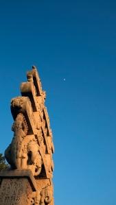 The Great Stupa, Sanchi Buddhist Temple, Sanchi, Madhya Preadesh, India.
