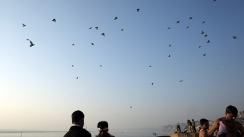Varanasi Fabruary 25 2013 Dawn